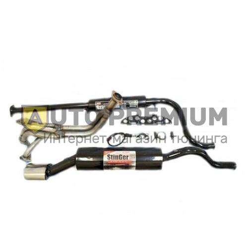 Выпускной комплект Subaru Sound ВАЗ 2190 Гранта 16v с глушителем